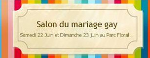 Evènement : Salon du mariage gay à Paris