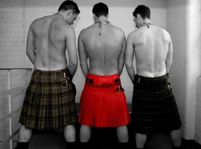 Scottish man skirt 0