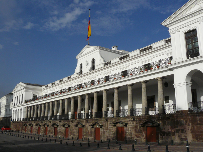 Palacio-Carondelet-Quito-Equateur
