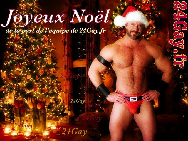 nude-gay-bear-santa-claus-hary-hunk-shirtless-bulge-christmas-tree-decorated-003