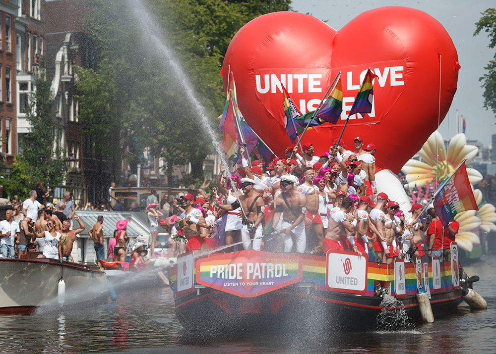 Canal Parade To Celebrate Gay Pride