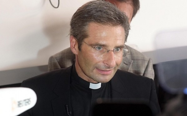 Krzysztof Charamsa, press conference in Rome