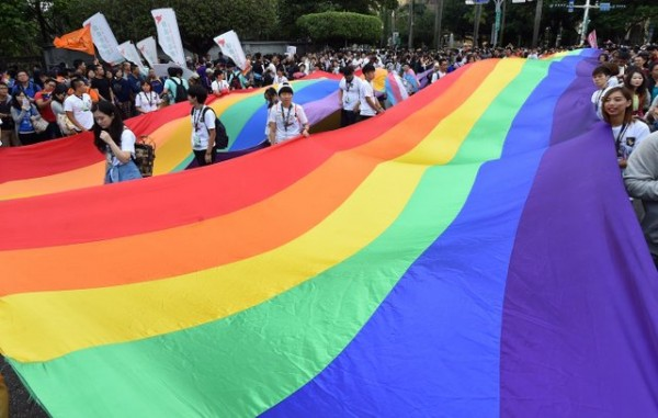 TAIWAN-GAY-RIGHTS