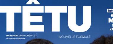 Le magazine TÊTU revient avec Macron