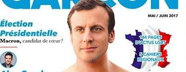 La Une qui fait bondir Macron !