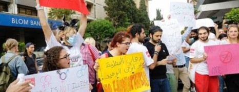 Sit-in de militants LBGT à Beyrouth