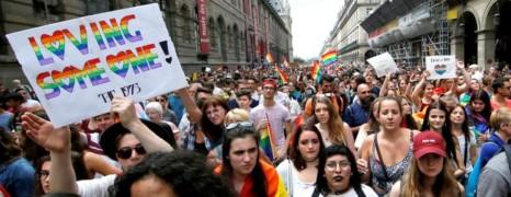 Une semaine de marches LGBT à travers le monde