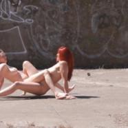 Du porno dans la nature tourné avec un drone
