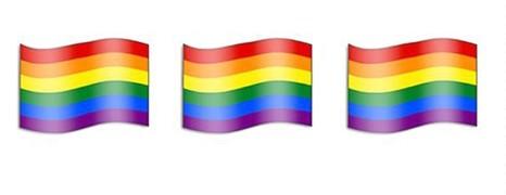 Bientôt un drapeau arc-en-ciel en émoticône