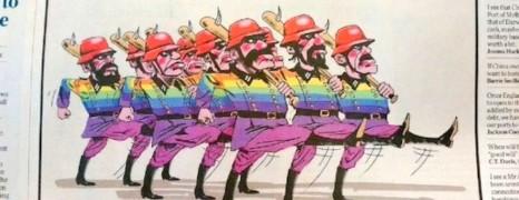 Des militants LGBT comparés à des soldats nazis