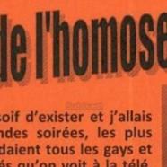 A Jarnac, le tract homophobe qui passe mal