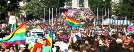 Plus d'un million de personnes à la WorldPride à Madrid