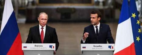 Tchétchénie : Macron assure à Poutine qu'il sera vigilant