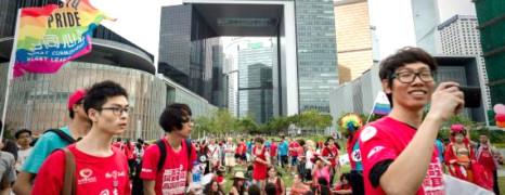 5 000 personnes à la Gay Pride de Hong Kong