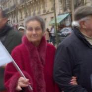 Simone Veil a-t-elle défilé dimanche ?
