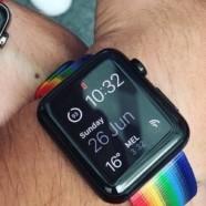 A la Gay pride de San Francisco Tim Cook distribue des Apple Watch LGBT
