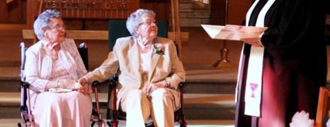 Elles se marient à plus de 90 ans !