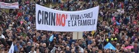 Les italiens défilent contre le mariage pour tous