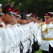 Les soldats australiens à la Gay Pride 2013
