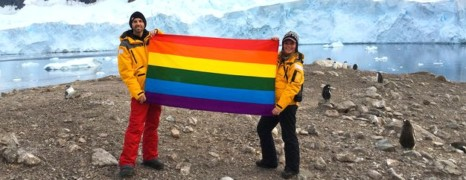 L'Antarctique déclaré le premier continent LGBT-friendly