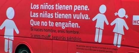 Espagne : le bus de la honte !