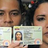 En Equateur, les couple gays enregistrés sur le document d'identité