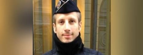 Xavier Jugelé décoré par Paris