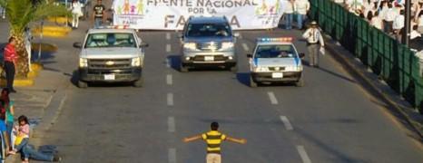 L'image choc de la manif contre le mariage gay au Mexique