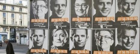 Que cachent ces affiches qui dévoilent le numéro de portable des candidats à l'Elysée ?