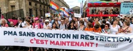 La PMA pour toutes en tête du 40e cortège de la Gay Pride de Paris