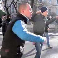 Agressions contre des militants LGBT en Ukraine