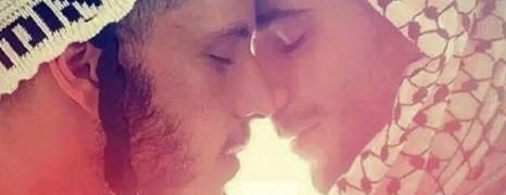 Madonna publie un baiser gay entre un arabe et un juif