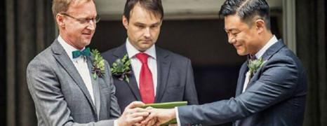 Le mariage gay qui fait débat en Chine
