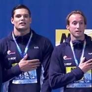 Natation : bravo les champions français !