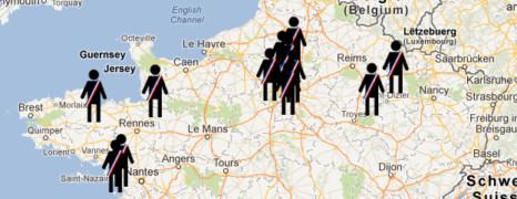 La carte des élus homophobes