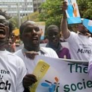 Une marche contre l'homosexualité à Dakar