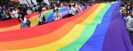 Gay Pride Tapei : 80 000 personnes dans les rues