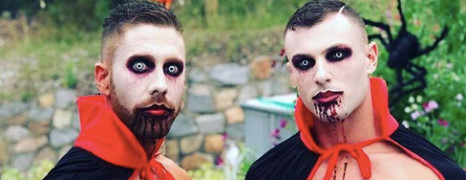 Photos du Jour : Halloween is gay crazy !