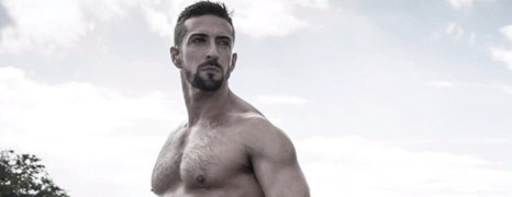 Le calendrier d'un acteur porno gay