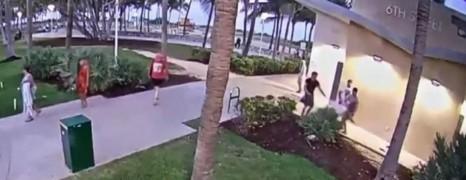 Un couple agressé après le défilé de la gay pride de Miami Beach