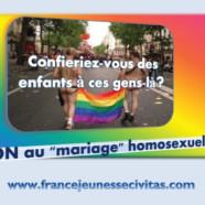L'Institut Civitas lance une campagne contre le mariage homosexuel