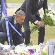 Barack Obama auprès des survivants d'Orlando