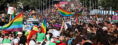 Madrid accueille la WorldPride 2017