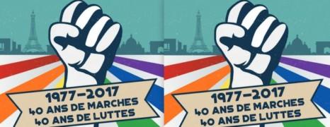Gay Pride Paris 2017 : le parcours
