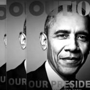 Obama en couverture de Out