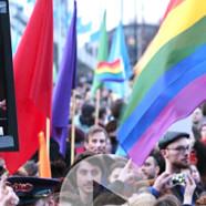 Amsterdam : manif pro gay contre Poutine
