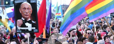 Propagande gay : Poutine doit décider