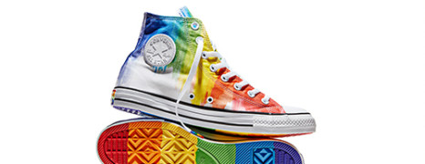 Converse lance sa Pride Collection