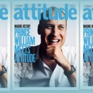 Le prince William en une d'Attitude