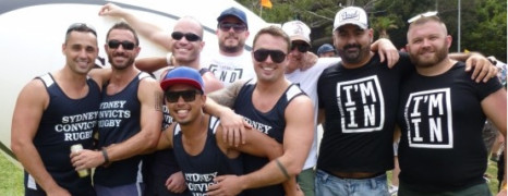Les rugbymen gay australiens recrutent